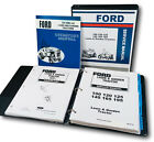 FORD 125 145 LAWN GARDEN TRACTOR SERVICE REPAIR PARTS OPERATORS OWNERS MANUAL
