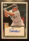 """2011 Topps Lineage GIANCARLO MIKE STANTON """"1952"""" AUTO Autograph Yankees Marlins"""