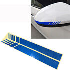 Car Side Rear View Mirror Sticker Fender Racing Decal Eyebrow Eyelid Decor Trim
