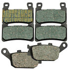 Front Rear Carbon Brake Pads For 2001-2006 2002 HONDA CBR 600 F4i Sport
