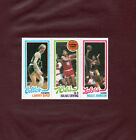 1980-81 Topps MAGIC JOHNSON LARRY BIRD rookie card *MINT CARD* *NO CREASES* WOW!