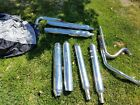 Harley Davidson Touring Exhaust Pipes with Bonus Large Motorcycle Cover