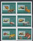 Z536. Guinea - MNH - Nature - Reptiles - Frogs - Deluxe - 2009 - Imperf