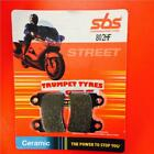 AJP PR4 125 Supermotard 04 > ON SBS Rear Ceramic Brake Pads OE QUALITY 802HF