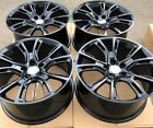 SET OF FOUR 4 20 x10 WHEELS RIMS fit JEEP GRAND CHEROKEE SRT 8 STYLE BLACK NEW