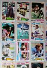 1982 TOPPS FOOTBALL COMPLETE SET 528 528 CENTERED EX-MT LAWRENCE TAYLOR ROOKIE