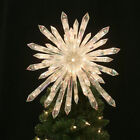 TWINKLING RETRO MCM StarburstChristmas Tree Topper Sparkling Nativity Star