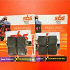 Derbi 659 Mulhacen Cafe 08 > ON SBS Front Brake Pads Dual Carbon 762DC