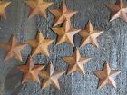 Lot 100 Rusty Barn Stars 2.25 in 2 1/4 Primitive Country Rusted Tin SHIPS FREE!