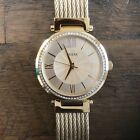 Guess women's watch gold color