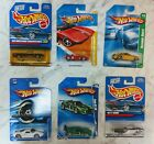 Lot of 6 Hot Wheels Ford Mustang Ford GT  T Bird Collectible Toy Cars NIB MIB