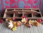 Vintage STUNNING BIG Handmade Wooden Tote Box~Perfect Rustic Country Farmhouse!