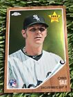 Chris Sale Rookie Cards and Prospect Card Guide 26