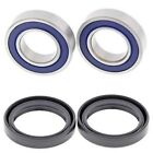 Suzuki RM125 RM250 2001-2008 Front Wheel Bearings And Seals