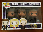 Angel, Buffy, Vampire Spike 3 Pack - Television - HMV Exclusive - Funko Pop