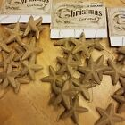Primitive Ragon House Christmas Garland 6' Primitive Country Stars Lot of 4