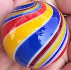 Hot House Glass Banded swirl marble 1.74