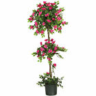Artificial 5 ft Bougainvillea Topiary Flower Floral Tree