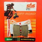 Borile B 500 CR MT 02 > ON SBS Rear Off Road Sinter Brake Pads OE QUALITY 675SI