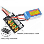 4CH XT60 Parallel Charge Board 3S-4S Lipo Batterie Balance Aufladen auf B6 Bord