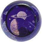Glass Eye Studio celestial series paperweight Saturn 482F Brand New