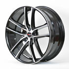 4 GWG Wheels 18 inch Black Machined ZERO Rims fits 5x110 SATURN SKY 2007 2009