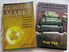 Japanese Glass Float Reference Book 2 Books Mark ID Origin Shape PICH Collector