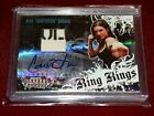 Gina Carano Signed Autograph Card UFC Donruss 2008 MMA Fighter Worn Material