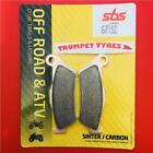 CCM 604 600 RS 01 SBS Front Sinter Brake Pads OE QUALITY 671SI