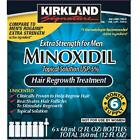 Kirkland Minoxidil 5% Extra Strength Hair Loss Treatment Regrowth 6mo Men