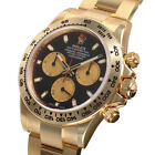 Rolex Daytona 116508 Yellow Gold Oyster Black Paul Newman Dial 40mm Watch