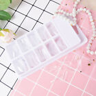 100pcs quick building poly gel nail forms mold tips extension dual nail ar BLUS