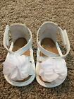 Super Cute White Sandal With White Flower Size 1