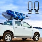 Foldable Kayak Roof Rack Canoe Boat Carrier Car SUV Truck Top Mount J Bar Holder