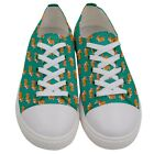 Womens Welsh Corgi Dog Printed Casual Low Top Canvas Sneakers Size US 5 105
