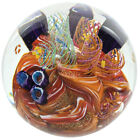 Caribbean Reef 2505 Environmental Series Paperweight Glass Eye Studio Brand New
