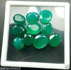 70.50 CT 10 Pieces Green Color Onyx 100% Natural Excellent Quality Gems W886
