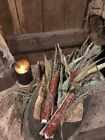 Primitive Fall Dried Corn Cobs Bowl Filler Autumn Homestead Early Look