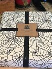 Well Dressed Home Spider Web 100 Cotton Halloween Table Cloth 60 x 84 NIP