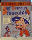 DISNEY PINOCCHIO WHEN YOU WISH UPON A STAR WARD KIMBALL SIGNED MUSIC SHEET 1940