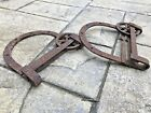 Antique Sliding Barn Door Hardware Horse Shoe Rollers Large 13 Inch