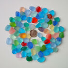 Big Size 12 16 mm Undrilled Beach Glass Sea Glass Beads For Jewelry Making