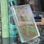 420ml Clear Book Portable Paper Pad Water Bottle Flat Drinks Cup Kettle Fash
