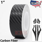 1 Vinyl Pinstriping Pin Stripe Line Tape Decal Sticker 25mm CARBON FIBER BLACK