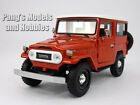 Toyota FJ40 Land Cruiser 1 24 Scale Diecast Metal Car Model RED