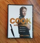 SIGNED COOK WITH JAMIE Jamie Oliver HARDCOVER COOK BOOK Recipes Food Network
