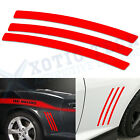 For Chevy Camaro 2010-2015 6pc Side Vent Stripe Panel Insert Stickers Decals