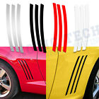 6pc Side Vent Stripe Panel Decals Insert Stickers For Chevy Camaro 2010 2015