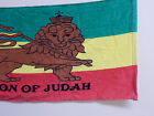 Clearance ! Cotton Printed Bath Room Hand Towel Lion Of Judah Set of Two 29
