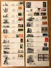 1960s 1970s FIRST DAY COVERS US FDCs LARGE COLLECTION 1 COVER